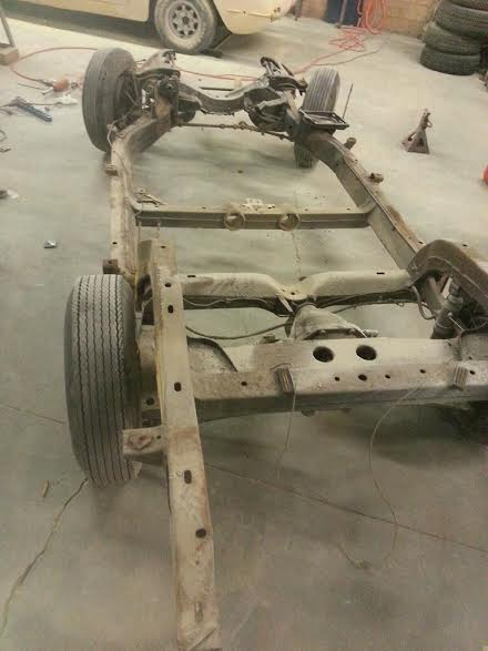 1963 Corvette Rolling Chassis
