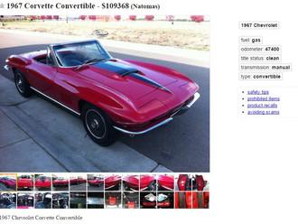 Pair of '67 Corvette BB Roadsters