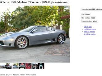 Nice as it gets '00 Ferrari 360 Modena