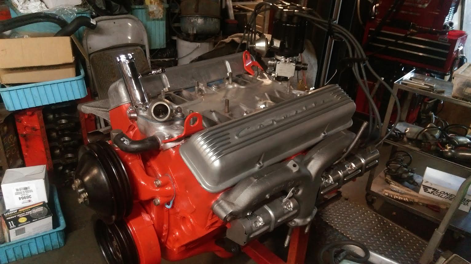 1963 Corvette Fuelie Motor