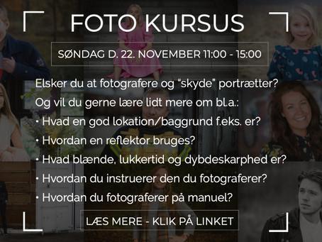 Årets sidste fotokursus