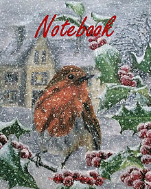 FRONT COVER-ROBIN IN SNOW-8x10 COVER TEM