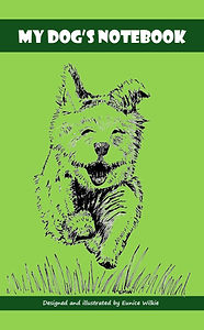 FRONT COVER-GREEN DOG NOTEBOOK-5x8 COVER