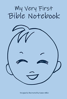 FRONT COVER-LAUGHING BABY BLUE - 6x9 COV