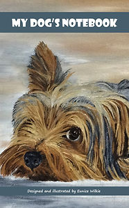 FRONT COVER-YORKSHIRE TERRIER NOTEBOOK-5