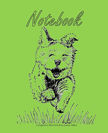 FRONT COVER-GREEN RUNNING DOG-8x10 COVER
