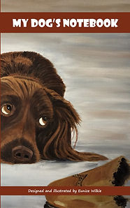 FRONT COVER-SPANIEL APPEAL NOTEBOOK-5x8