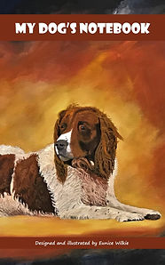 FRONT COVER-FRIENDLY SPANIELS NOTEBOOK-5