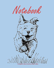 FRONT COVER-RUNNING DOG-8x10 COVER TEMPL