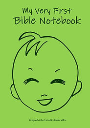 FRONT COVER-LAUGHING BABY GREEN- 6x9 COV