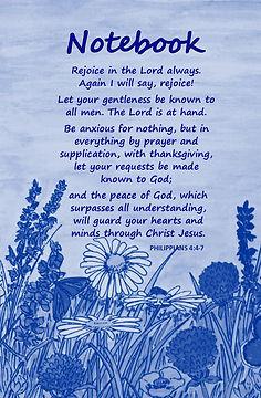 FRONT COVER - BIBLE VERSES - Philippians