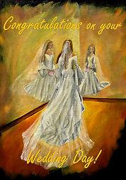Wedding Card - Congratulations on your W