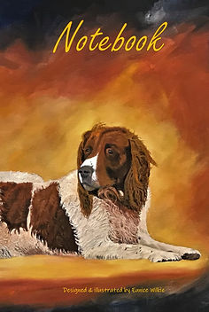 FRONT COVER-2 SPANIELS-5x8 COVER TEMPLAT