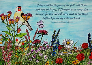 Flower Meadow - With Extracts from Matth