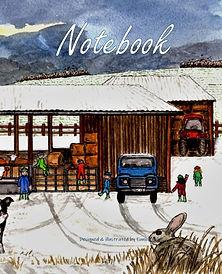 FRONT COVER-WINTER FARMING SCENE-8x10 CO