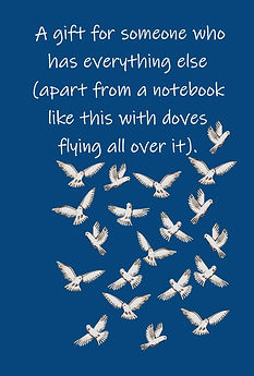 FRONT COVER - DOVES NOTEBOOK FOR PEOPLE WHO HAVE EVERYTHING.jpg