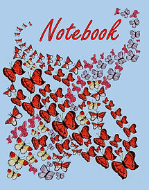 FRONT COVER-MULTI BUTTERFLIES 8X10 COVER