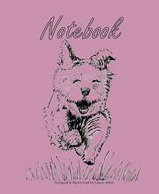 FRONT COVER-PURPLE RUNNING DOG-8x10 COVE