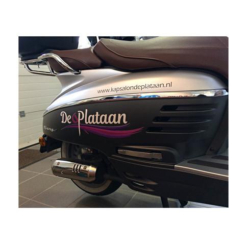 Scooter De Plataan