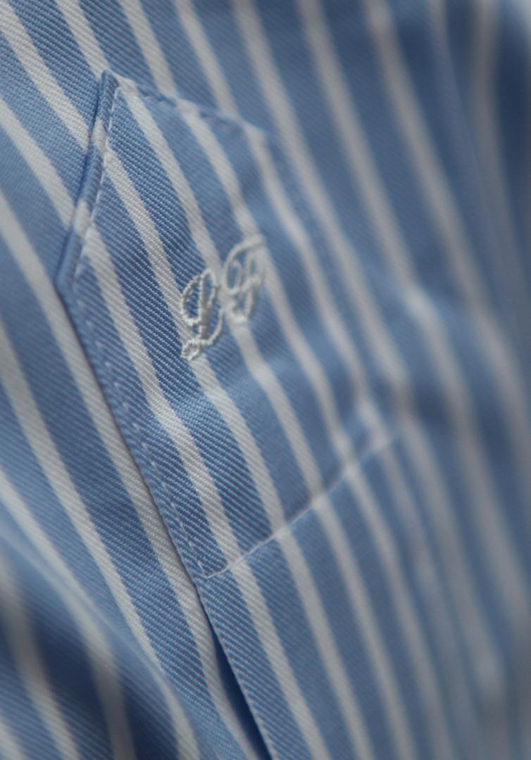 initiales chemise sur mesure
