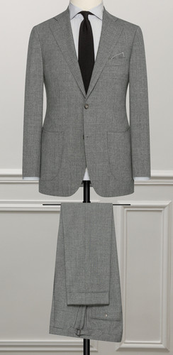 Costume gris business