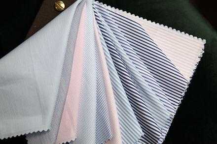 tissus chemise sur mesure