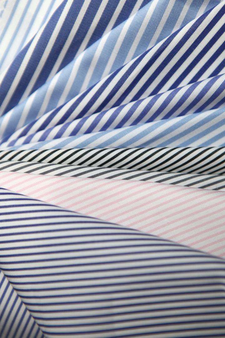Tissus chemise petite rayure
