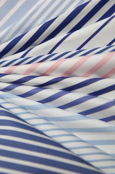 Tissus chemise grandes rayures