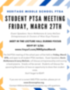 HMS PTSA Student Meeting March.png