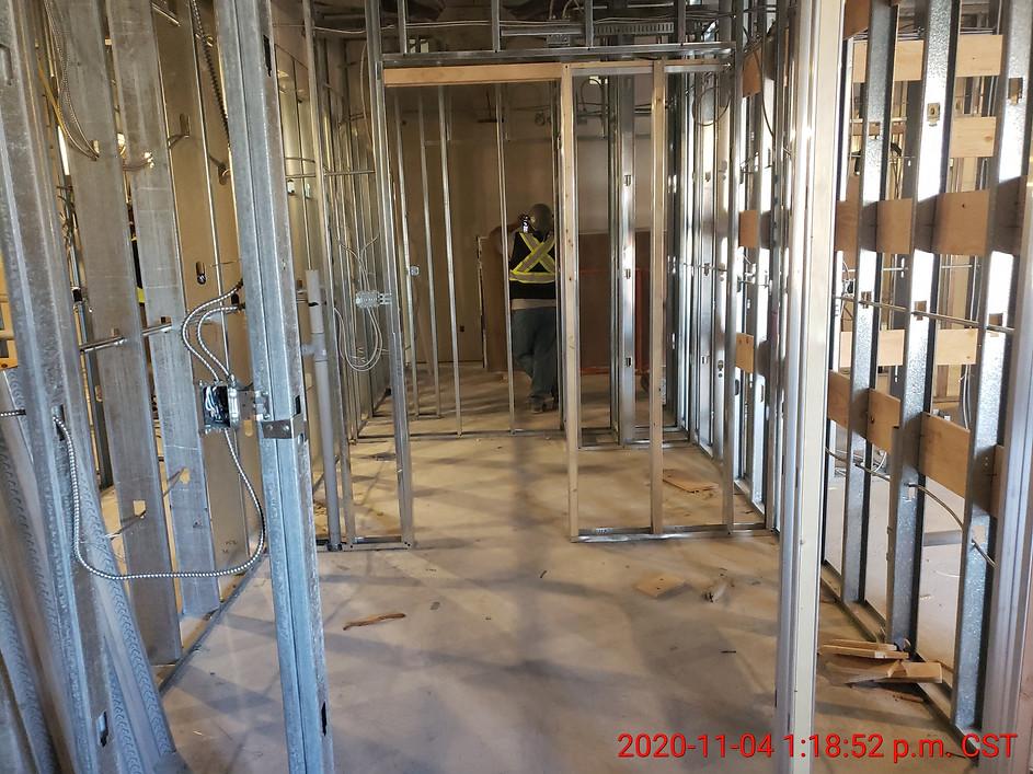 November 4, 2020  Suite 309 - Ensuite/walk-in closet.