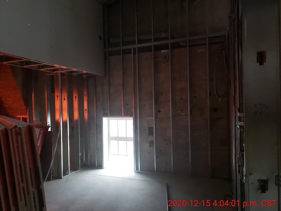 December 15, 2020  Suite 314 living room  (looking north towards Academy)