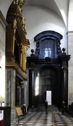 Cappella provvisoria della Sindone