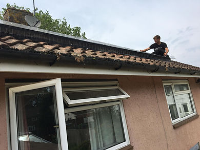 installing solar panel mesh guard
