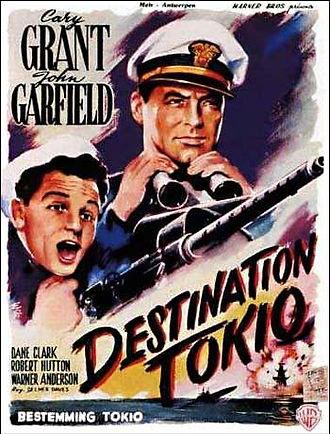 Movie poster for Destination Tokyo
