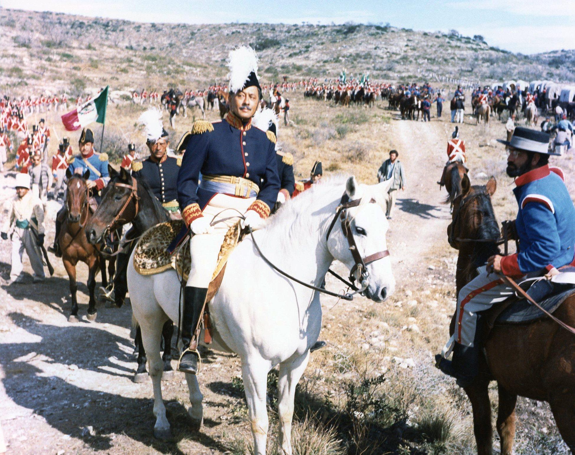 Alamo Horseback Troops