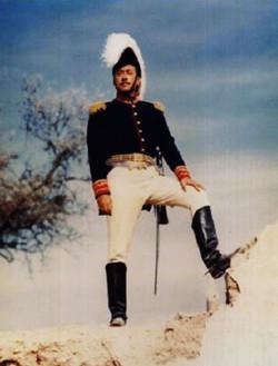 """General Santa Ana in """"The Alamo"""""""