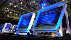 TV Set Signage
