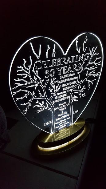 LED Tree Birthday Light