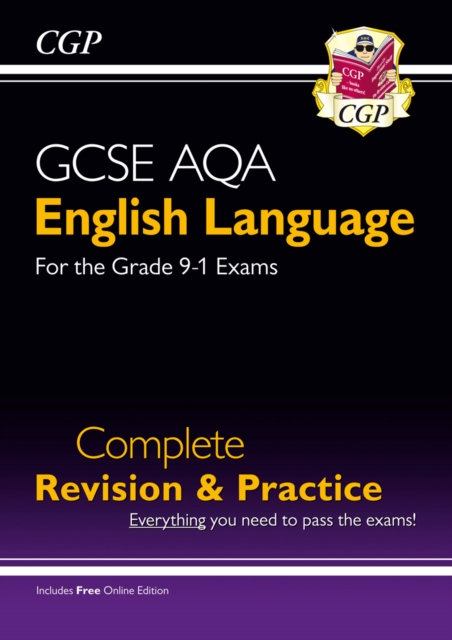GCSE English Language AQA Complete Revision & Practice - Grade 9-1 Course (with