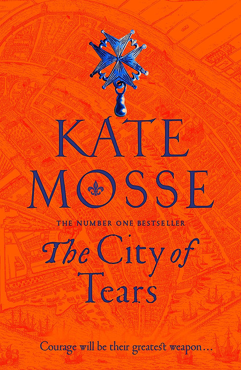Signed copy of The City of Tears and online event
