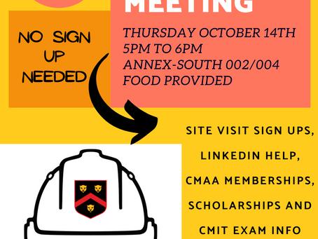 CM Club Fall 2021 General Body Meeting 2