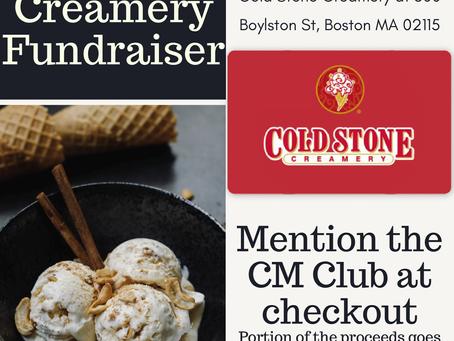 Coldstone Creamery Fundraiser
