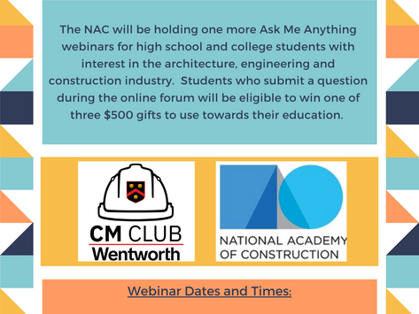 NAC AMA - Bill Calhoun - Tuesday 10/5 @ 7pm ET