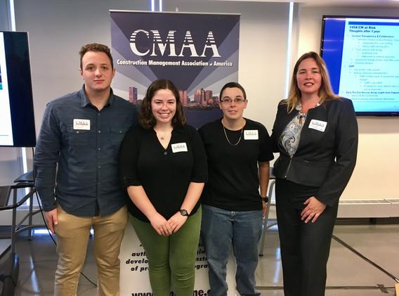 9-18-18 CMAA Breakfast - CM Students wit
