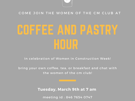 WIC Week Coffee Hour