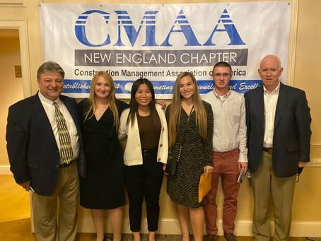 Wentworth Students Win CMAA Scholarships
