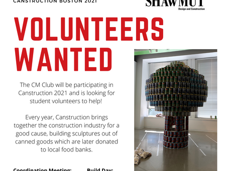 Wentworth CM Club Takes on Canstruction 2021