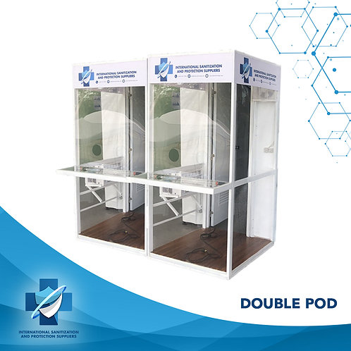 Medi Pod   Dual Pod   COVID Testing Booth   Safety Cell   Protective Booth
