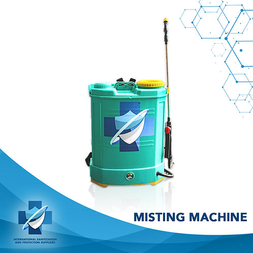 Disinfection Misting Machine | High Pressure | Backpack Sprayer 16L