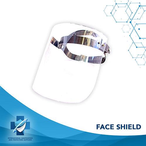 Heavy Duty Full Face Shield   Full Face Mask   Adjustable for any size head